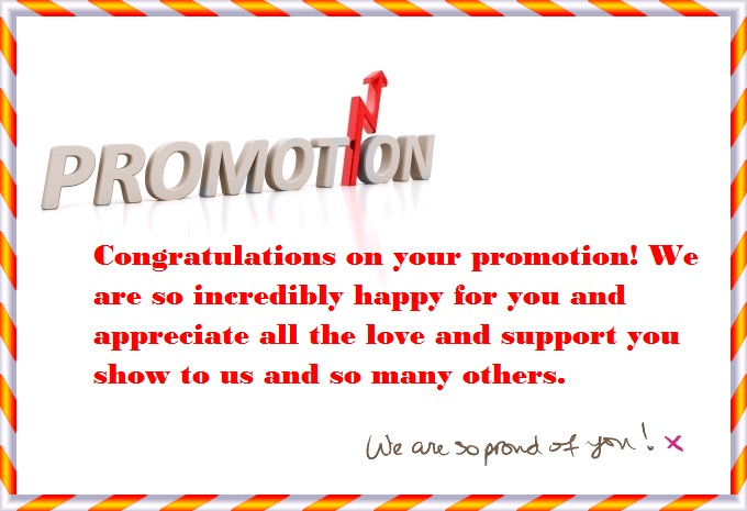 Congratulations Quotes For Promotion Congratulations on You...