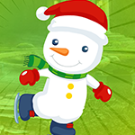 Games4King - Snowman Escape