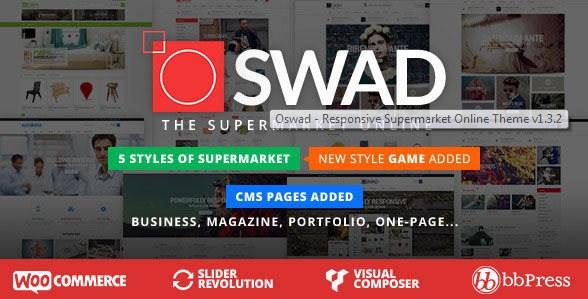 Download Oswad v1.3.2 Responsive Wordpress Theme Free