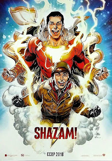 shazam dc movie poster wallpaper screensaver image picture