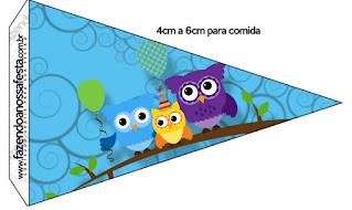 Búhos de Colores: Imprimibles para Fiesta de Quince Años para Imprimir Gratis.