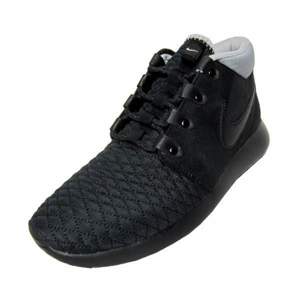 pretty nice 8a42c 97c17 Nike Roshe Run Sneakerboot. Black, Black, Black, Silver. 615601-002