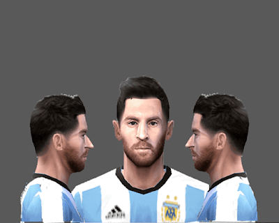 PES 6 Messi Face