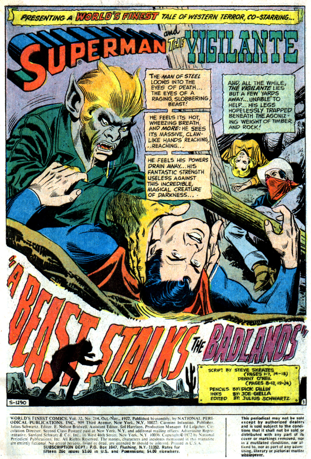 Read online World's Finest Comics comic -  Issue #214 - 3