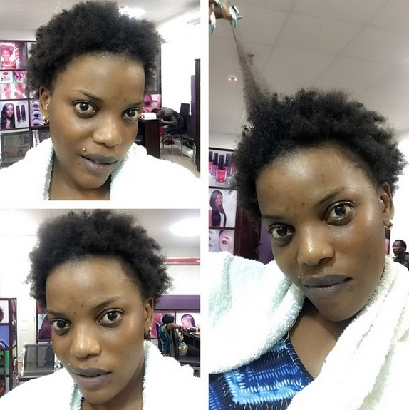 empress njamah natural hair