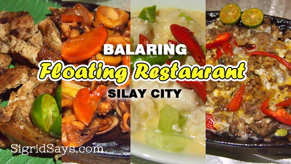 Floating Restaurant in Balaring