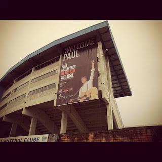 6 meses do último show de Paul McCartney no Brasil