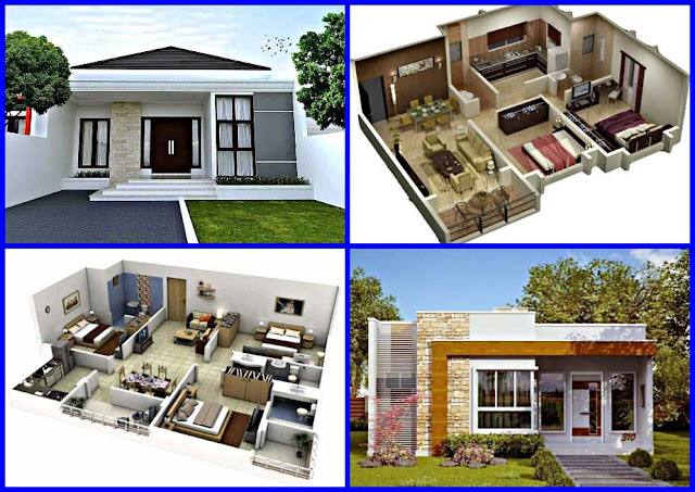 Gambar Denah dan Desain Rumah Minimalis Modern