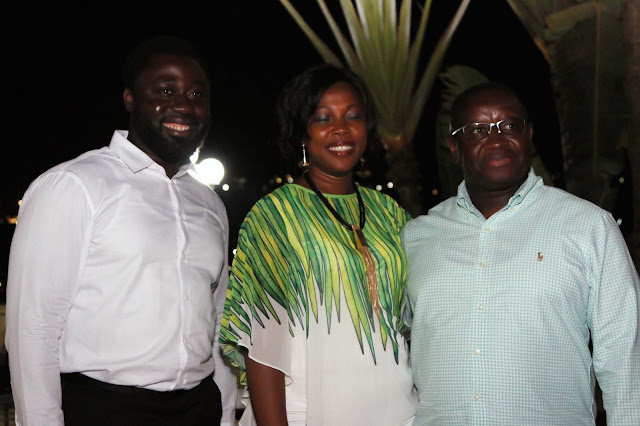 Mercy Johnson-Okojie And Husband Hosted By Sierra Leone President Julius Maada-Bio & His Wife At Their Home