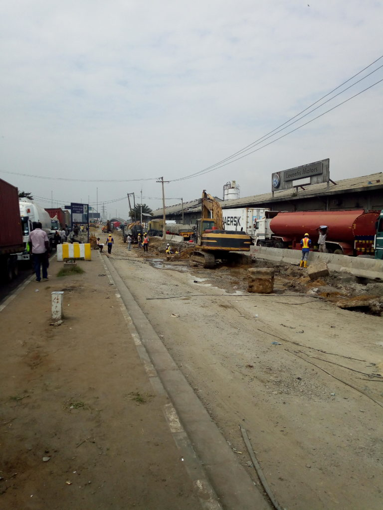1 Section of Apapa - Wharf Road to be opened to traffic before end of January