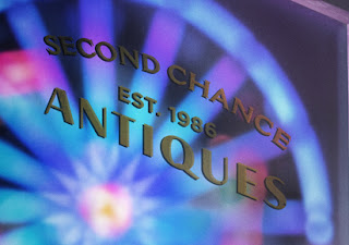 Toy Story 4 Second Chance Antiques Logo