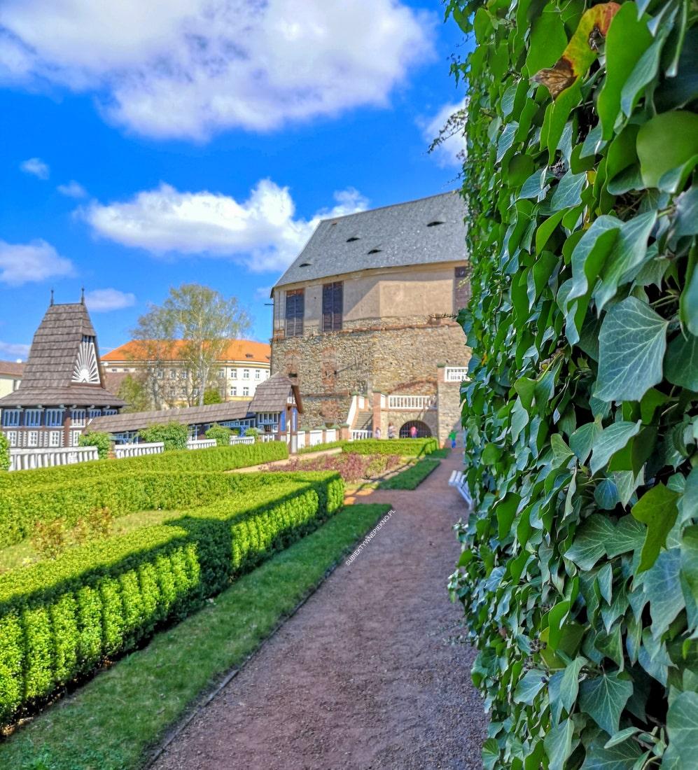 Nowe miasto nad Metują Czechy zamek