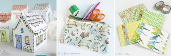 craft tutorials by Hazel Fisher Creations
