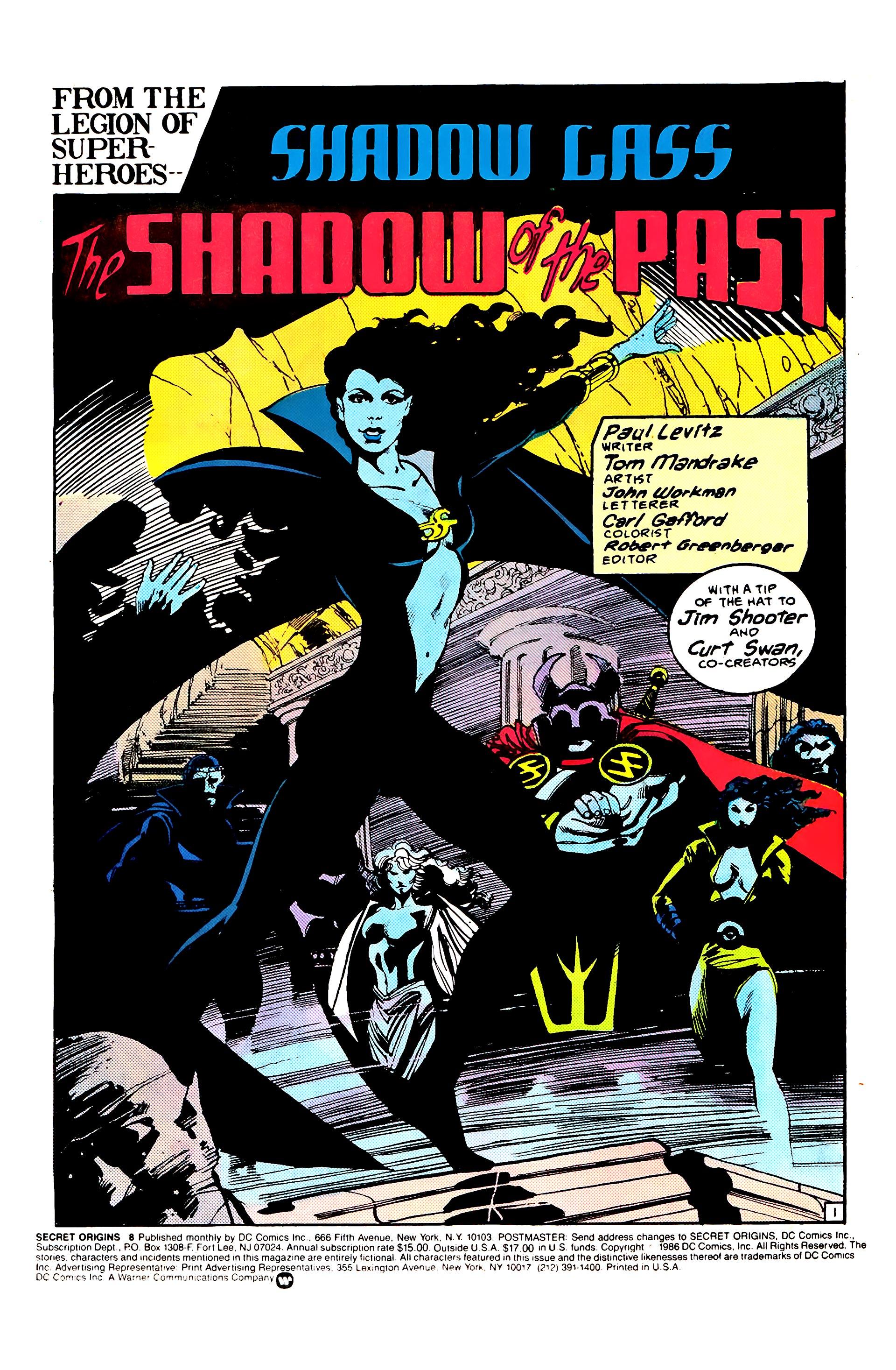 Read online Secret Origins (1986) comic -  Issue #8 - 3