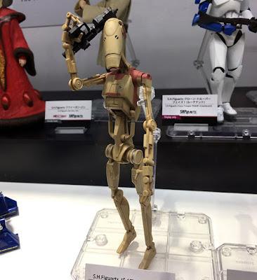 S.H.Figuarts Star Wars Ep.II Pilot Droid