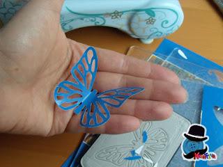 farfalla di carta faidate
