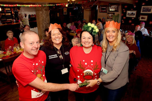 Free festive food and fundraising galore: Grange Moor pub's Christmas mission