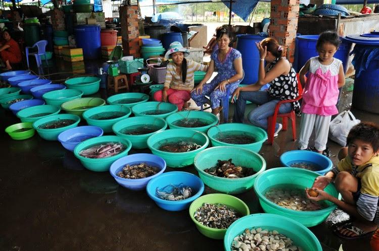 Chợ hải sản Cần Giờ