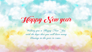 God Bless You Happy New Year Status