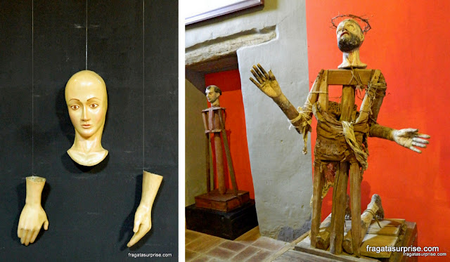 Arte sacra colonial no Museu do Mosteiro Ecce Homo, Villa de Leyva, Colômbia