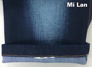 Vải Jean Stock giá rẻ T/R thun 11oz S283