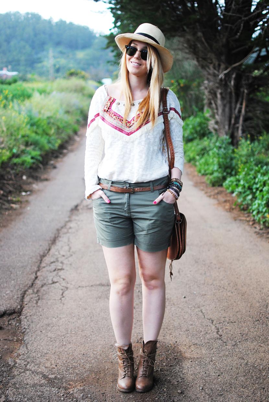 panama hat, nery hdez, shorts, rayban