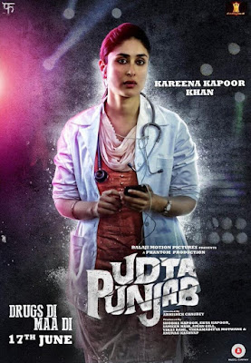 Udta Punjab 2016 Movie Poster   Kareena Kapoor Khan