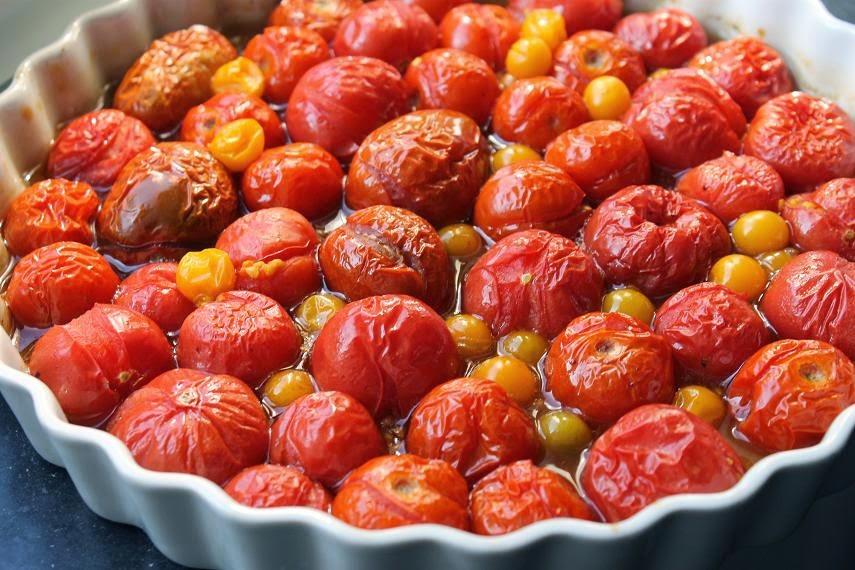 Tomaten aus dem Ofen