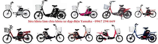 Dịch vụ làm chìa khóa sửa khóa xe đạp điện Yamaha