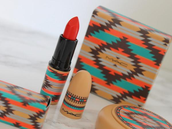 MAC Vibe Tribe Painted Sunset Lipstick & Matte Bronze