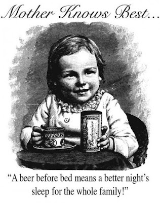 Beer before bed