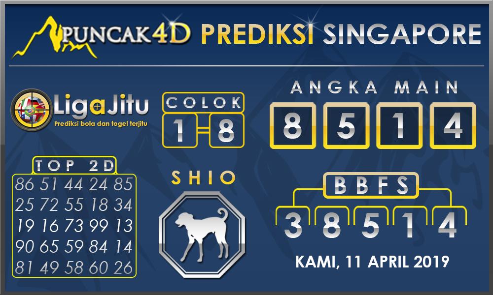 PREDIKSI TOGEL SINGAPORE PUNCAK4D 11 APRIL