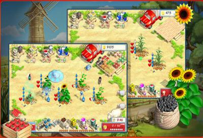 陽光農場(Sunshine Acres),類似瘋狂農場的模擬經營!