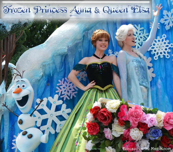 Princess Anna and Queen Elsa