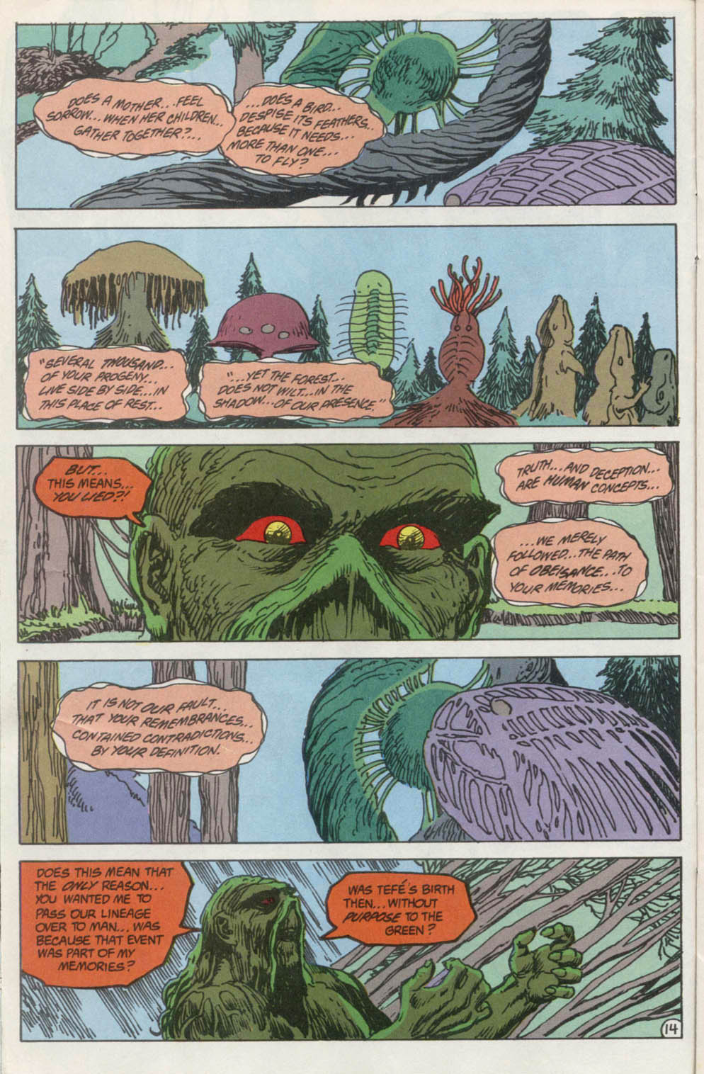 Swamp Thing (1982) Issue #100 #108 - English 15