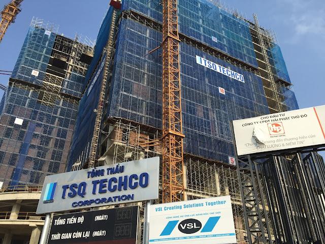 Tiến độ xây dựng chung cư HPC Landmark