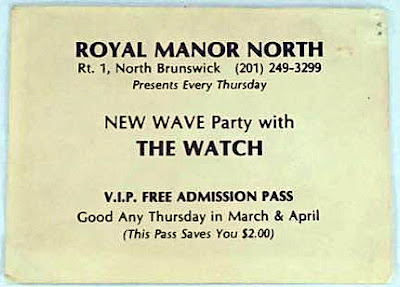 Free pass to the Royal Manor North to see The Watch live