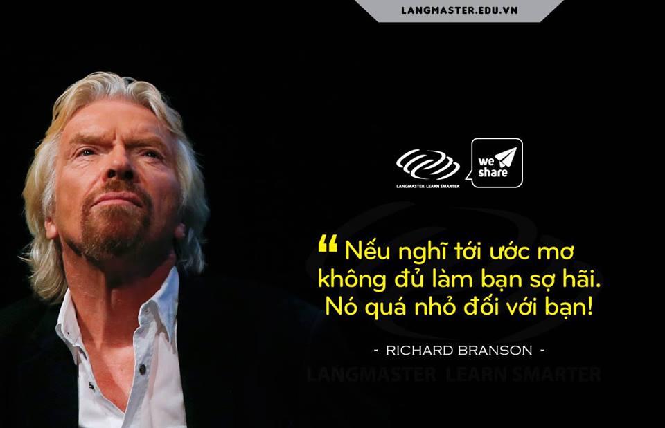 Câu nói hay của Richard Branson