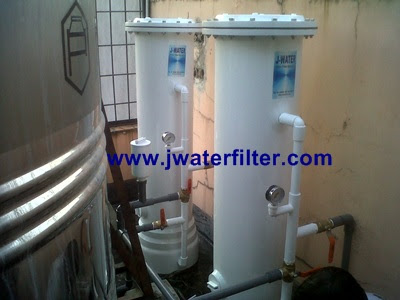 water filter karbon resin