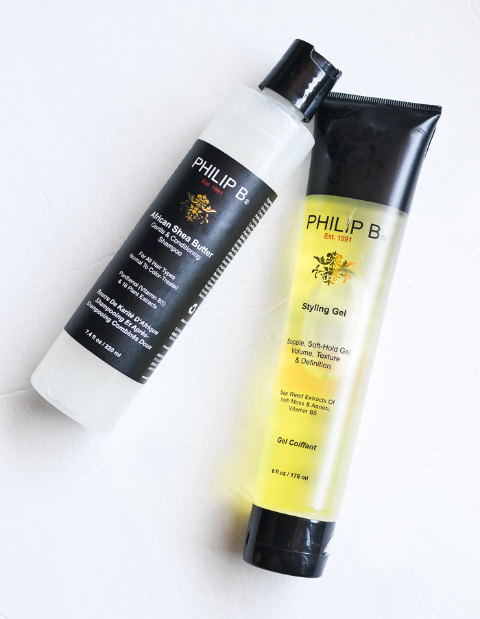 Philip B African Shea Butter Gentle Conditioning Shampoo - Styling Gel - Review