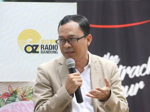 Ketua KPU Kota Bandung Rifqi Alimubarok