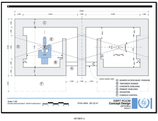Project radiation protection 2016 facilities design at for X ray room floor plan