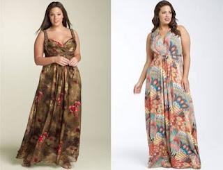 Vestidos longos de festa para gordas fotos