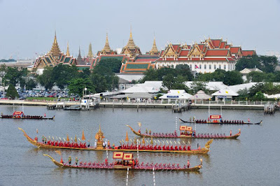 Royal Barges in Bangkok