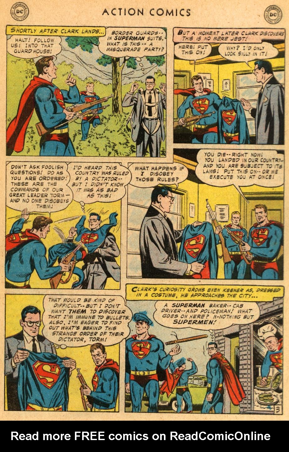 Read online Action Comics (1938) comic -  Issue #233 - 5