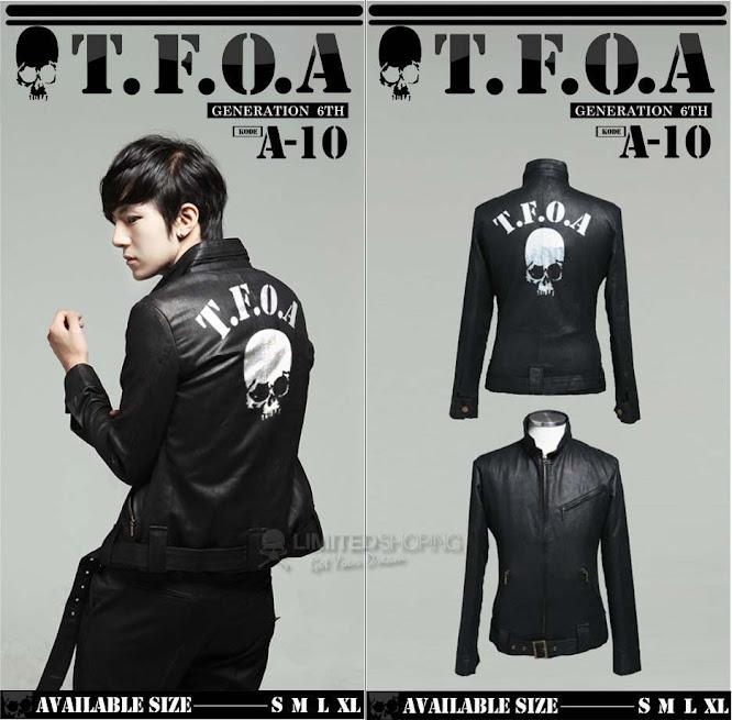 limited shoping jaket kulit crows zero tfoa generation 6th a 10