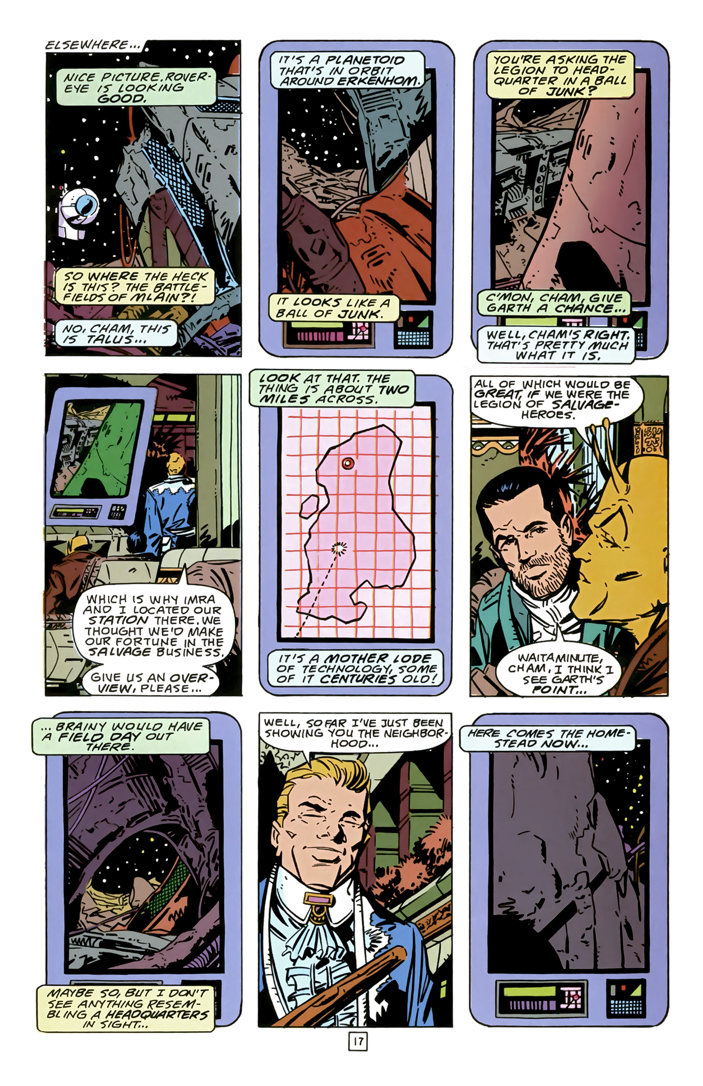 Legion of Super-Heroes (1989) 14 Page 17