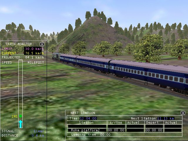 MSTS Open Rails Indian Railways: MSTS Bhise Tunnel Route