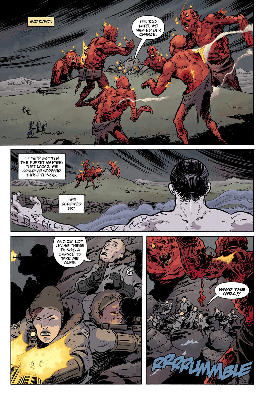Read online B.P.R.D. Hell on Earth: The Return of the Master comic -  Issue #5 - 8