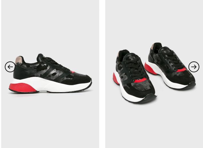 Adidasi fete negri ieftini in tendinte de la Answear